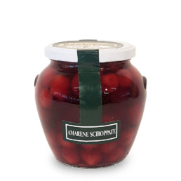 amarene sciroppate (canned blackcherries) di