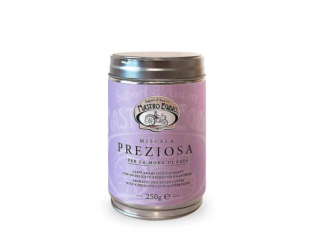 """caffè miscela preziosa (coffee blend) di """"Mastro Egidio"""" di Italia dei Sapori"""""""