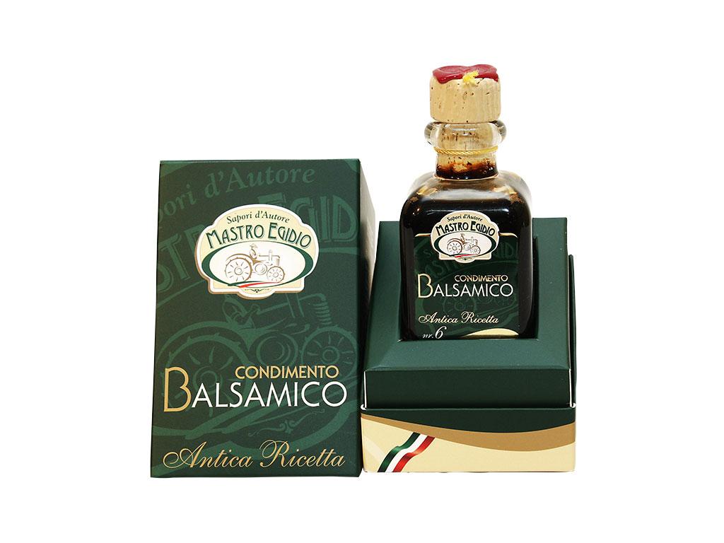 """condimento balsamico 6 travasi (balsamic condiment) di """"Mastro Egidio"""" di Italia dei Sapori"""""""
