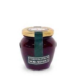 confettura extra di mora selvatica (wild blackberry jam) di