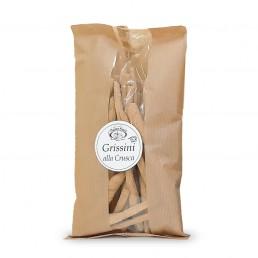 grissini alla crusca (breadsticks with bran) di