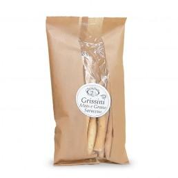 grissini al mais e grano saraceno (breadsticks with corn and buckwheat) di