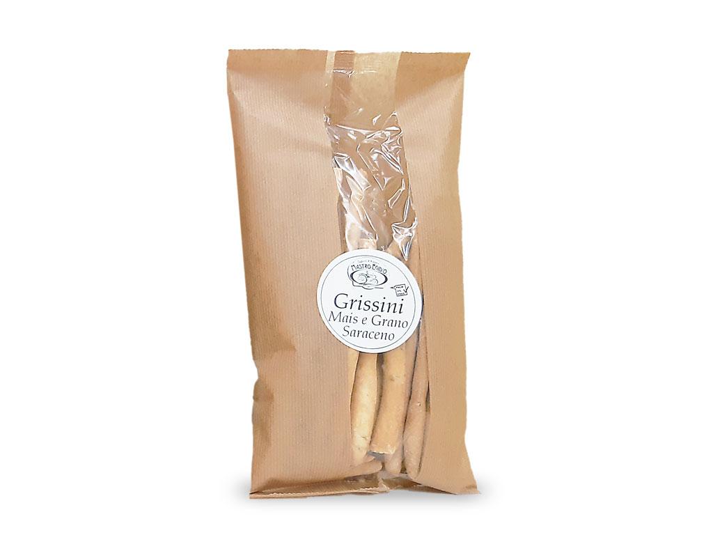 """grissini al mais e grano saraceno (breadsticks with corn and buckwheat) di """"Mastro Egidio"""" di Italia dei Sapori"""""""