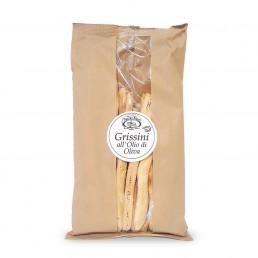 grissini all'olio di oliva (breadsticks with olive oil) di