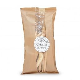 grissini al sesamo (breadsticks with sesame) di