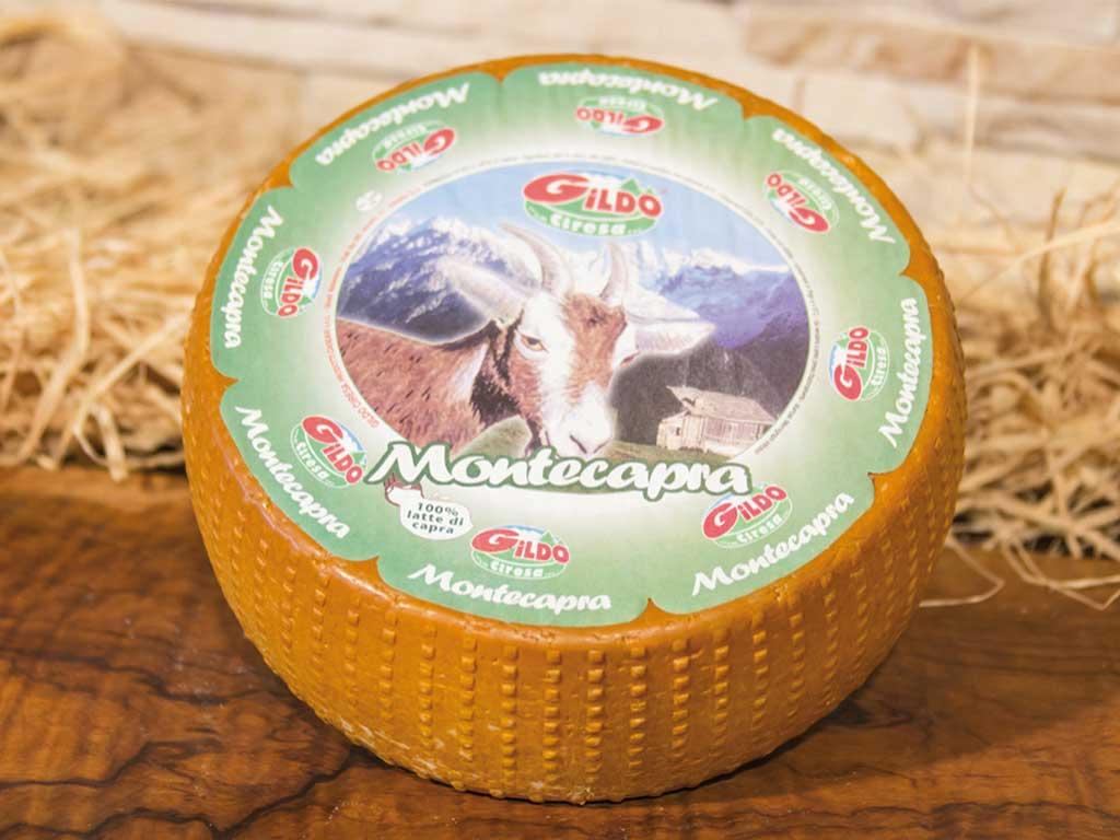 montecapra formaggio di capra (caprino)