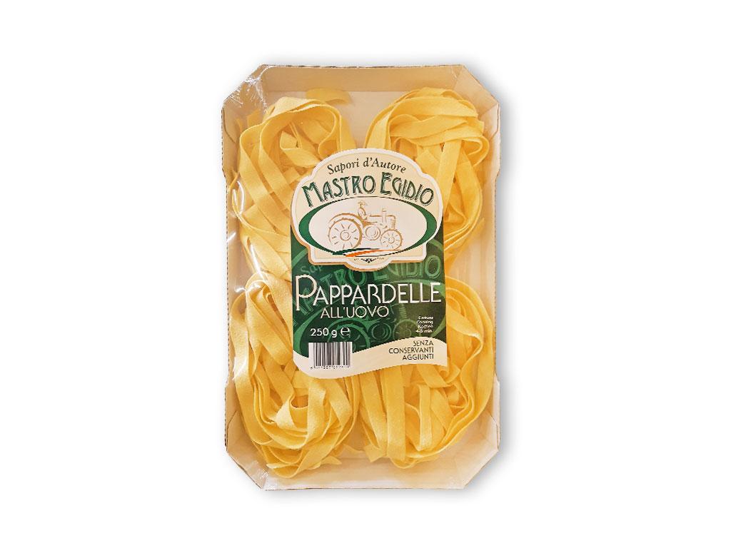 """pappardelle (pasta all'uovo secca / dry egg pasta) di """"Mastro Egidio"""" di Italia dei Sapori"""""""