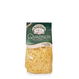 quadretti (pasta all'uovo secca / dry egg pasta) di
