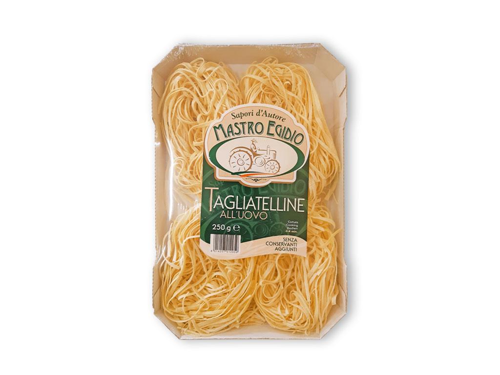 """tagliatelline (pasta all'uovo secca / dry egg pasta) di """"Mastro Egidio"""" di Italia dei Sapori"""""""