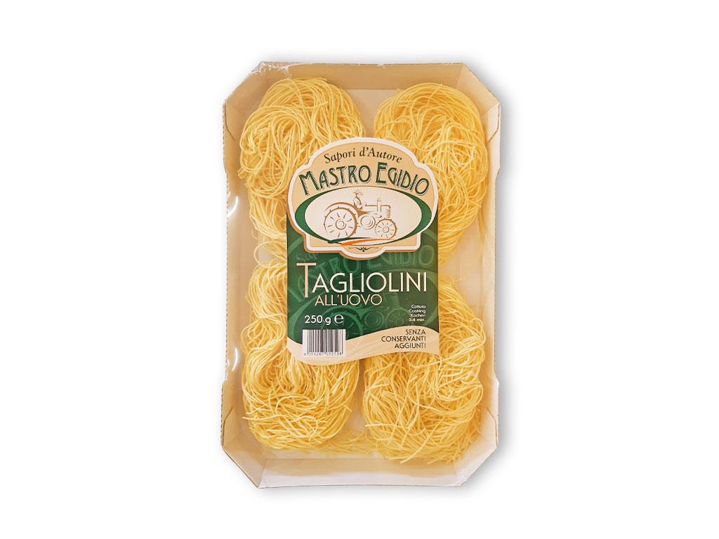 """tagliolini (pasta all'uovo secca / dry egg pasta) di """"Mastro Egidio"""" di Italia dei Sapori"""""""