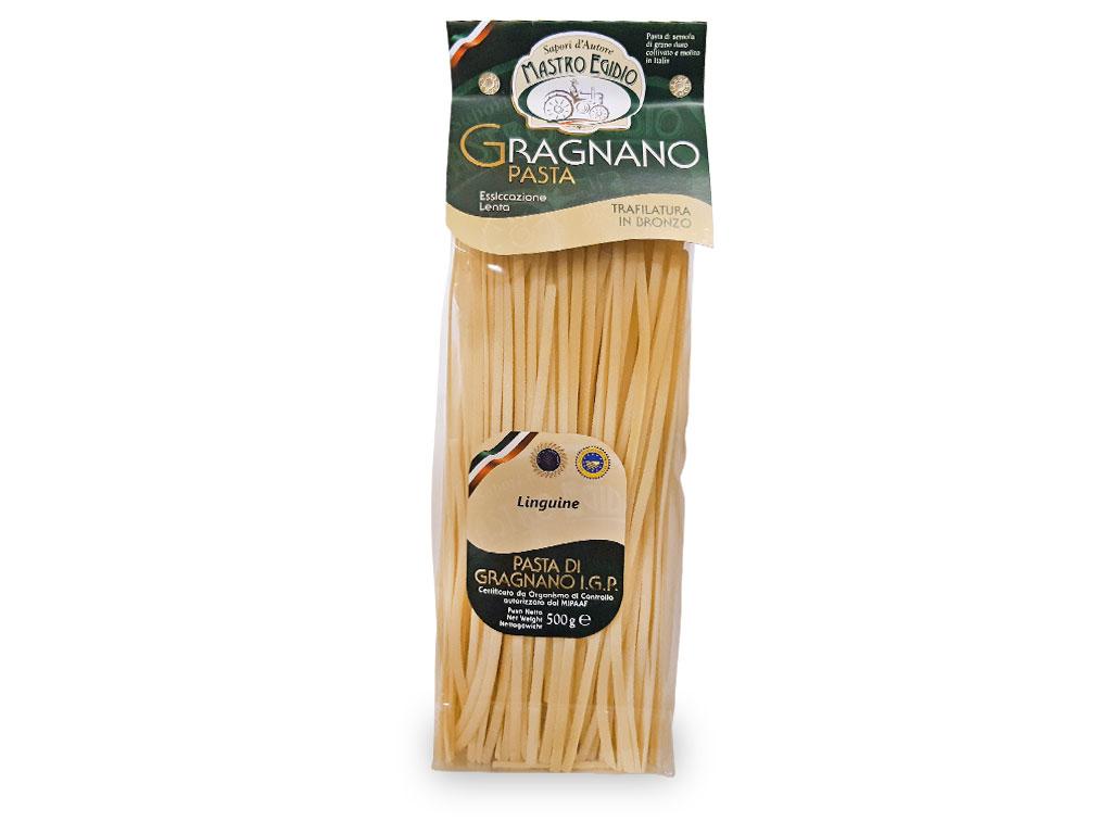 """linguine pasta di gragnano igp di """"Mastro Egidio"""" di Italia dei Sapori"""