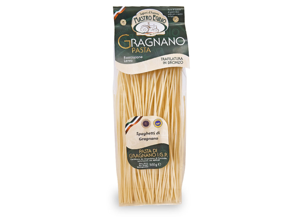 """spaghetti pasta di gragnano igp di """"Mastro Egidio"""" di Italia dei Sapori"""