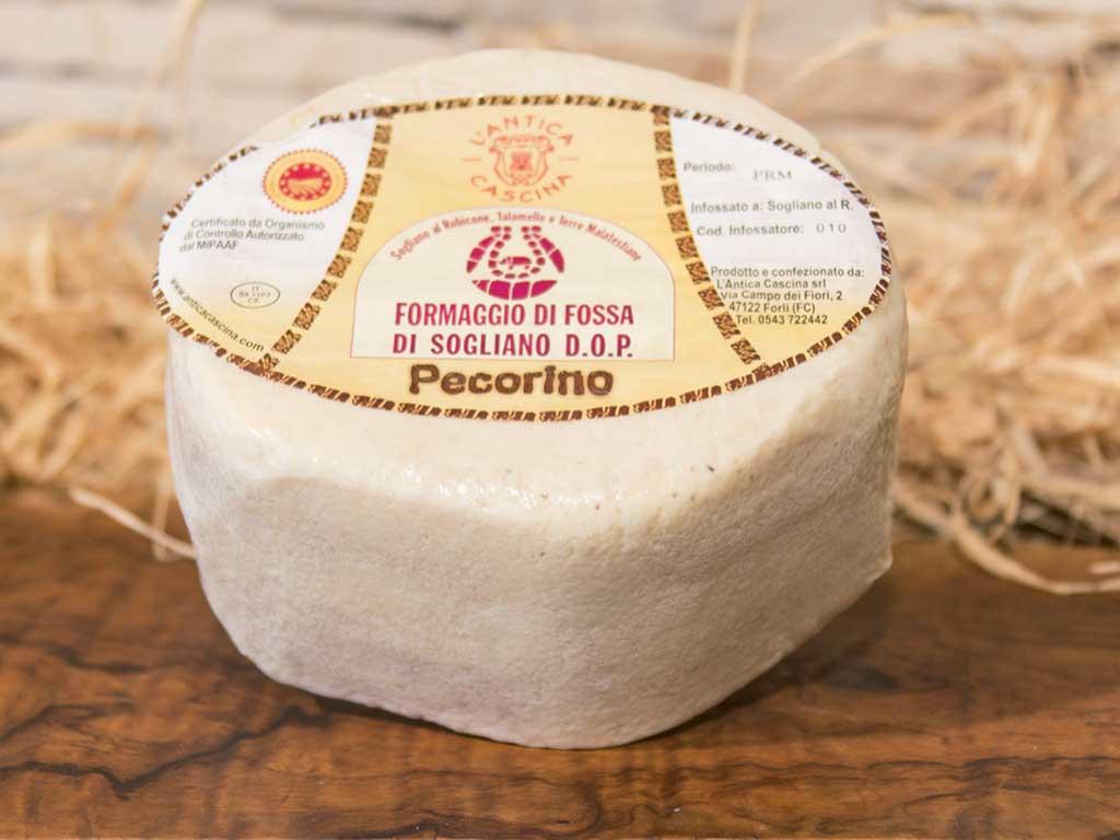 formaggio di fossa dop pecorino romagnolo