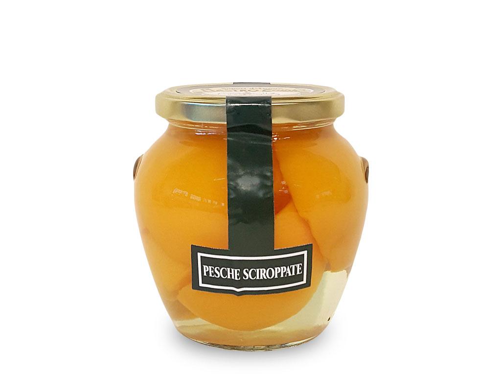 """pesche sciroppate (canned peaches) di """"Mastro Egidio"""" di Italia dei Sapori"""""""
