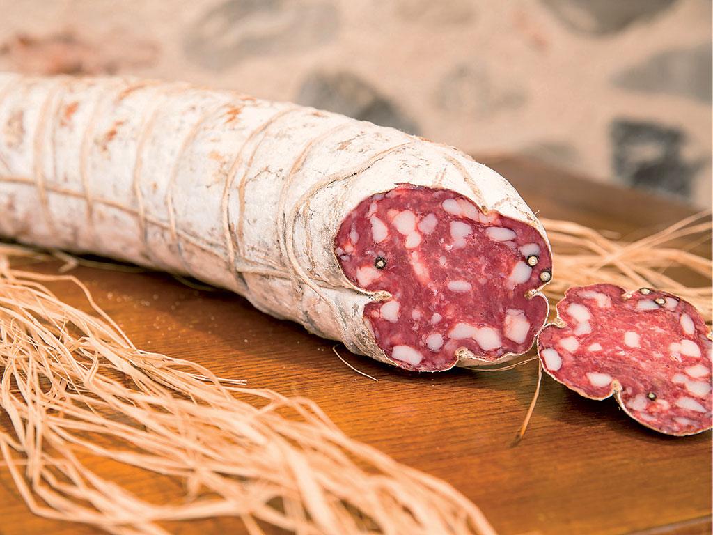 "salame toscano (salami) de ""I Salumi di Cantina"" di Italia dei Sapori"