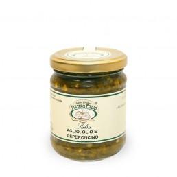salsa aglio, olio e peperoncino (per formaggi e carni) di