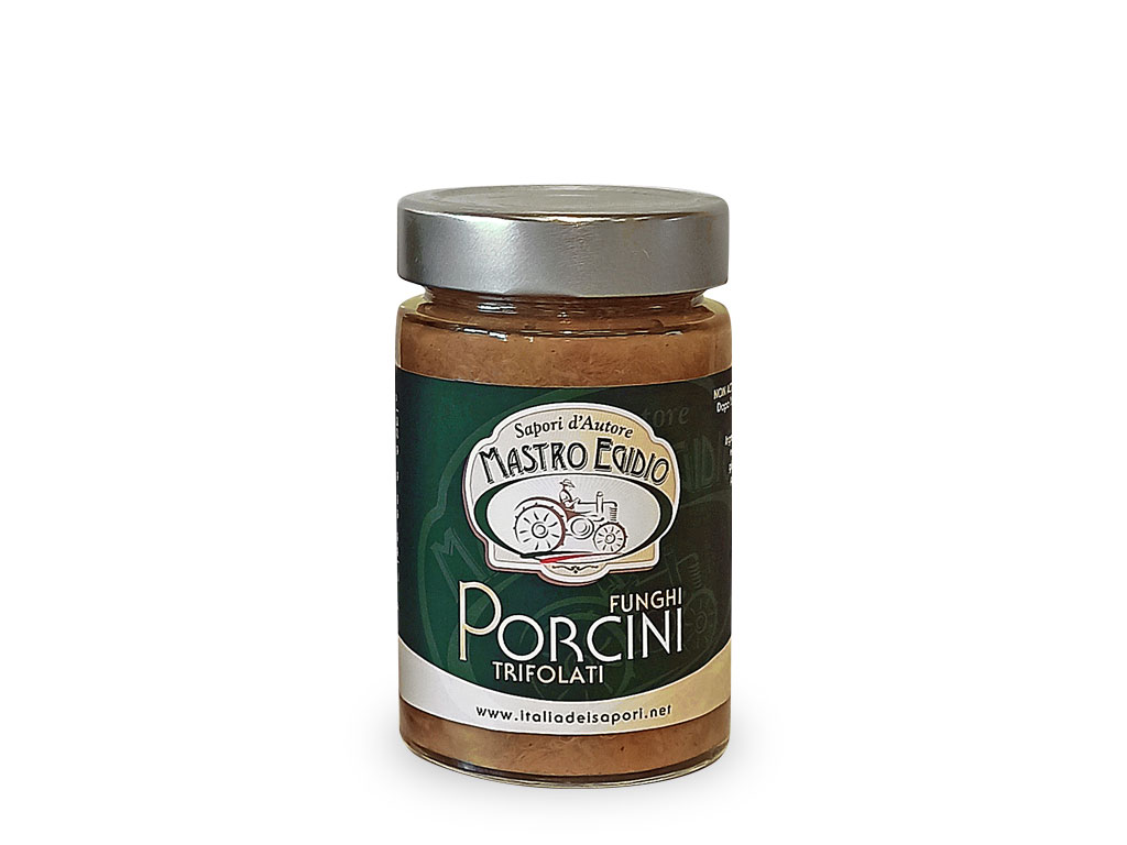 """funghi porcini trifolati (Sautéed Mushrooms) di """"Mastro Egidio"""" di Italia dei Sapori"""""""