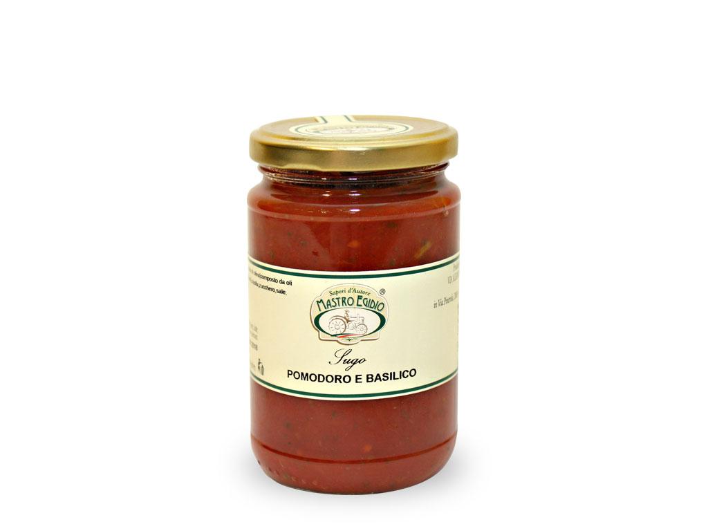 """sugo di pomodoro e basilico (tomato sauce with basil) di """"Mastro Egidio"""" di Italia dei Sapori"""""""