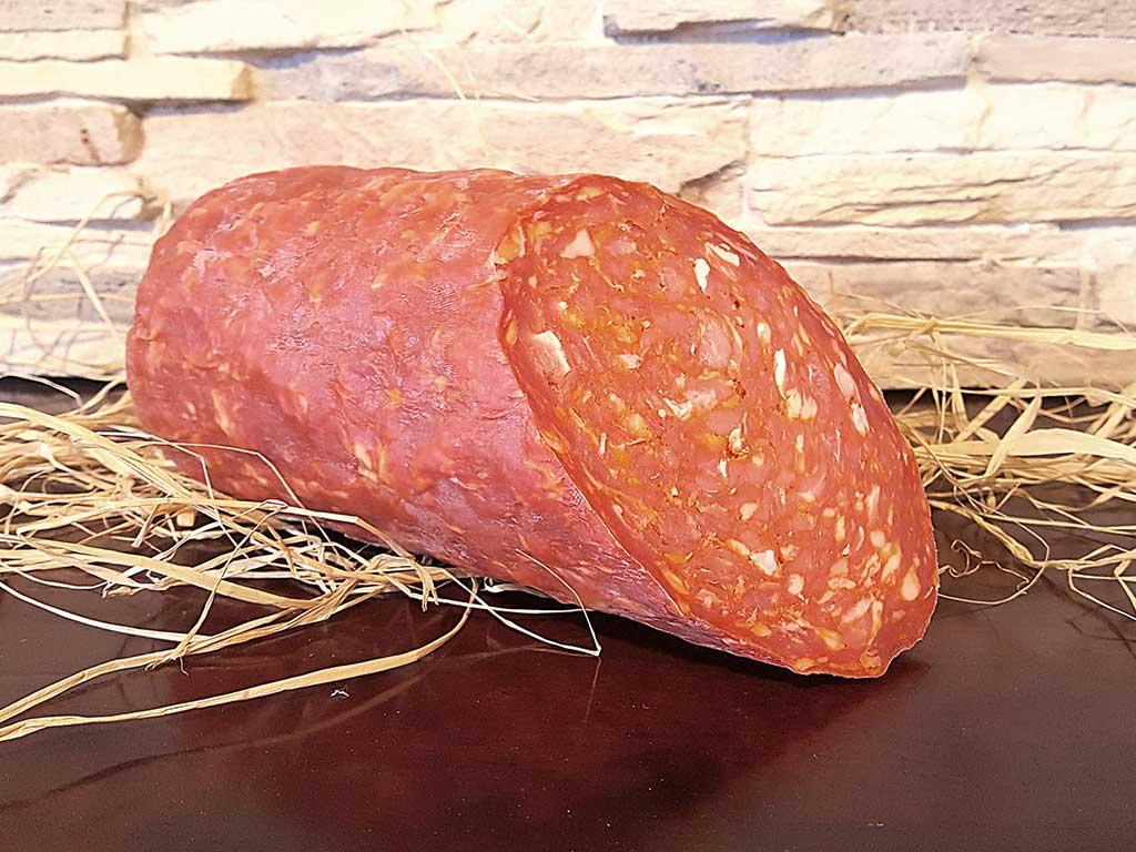 """ventricina piccante (spicy salami) de """"I Salumi di Cantina"""" di Italia dei Sapori"""