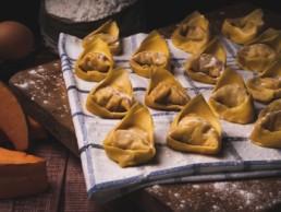 tortelloni di zucca pasta fresca ripiena italia dei sapori