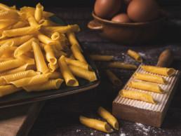 garganelli all'uovo pasta fresca corta italia dei sapori
