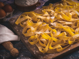pappardelle all'uovo pasta fresca lunga italia dei sapori