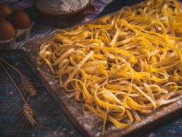 tagliatelle all'uovo pasta fresca lunga italia dei sapori
